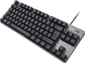 Logitech K835 TKL Mechanical Keyboard, TTC RED, grau/schwarz, USB, DE (920-010007)