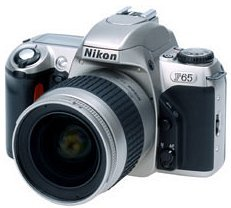 Nikon F65 (SLR) with third-party manufacturer lens
