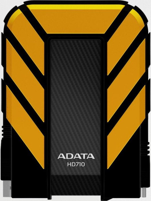 ADATA DashDrive Durable HD710 yellow 1000GB, USB 3.0 (AHD710-1TU3-CYL)