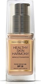 Max Factor Healthy Skin Harmony Miracle Foundation 65 Rose Beige, 30ml