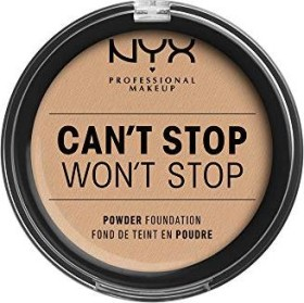 NYX Can't Stop Won't Stop Powder Foundation natural, 10.7g
