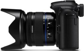 Samsung NX5 schwarz mit Objektiv NX 18-55mm