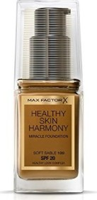 Max Factor Healthy Skin Harmony Miracle Foundation 100 Soft Sable, 30ml