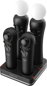 Speedlink Bay 4-Port Move charging station, black (PS3) (SL-4310-SBK)