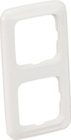 Busch-Jaeger cover frame 2-way frame, alpine white (2512-214)