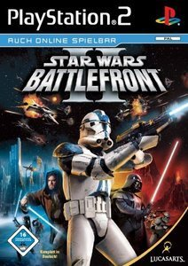 Star Wars Battlefront 2 (German) (PS2)