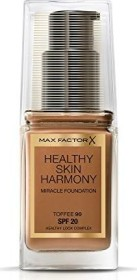 Max Factor Healthy Skin Harmony Miracle Foundation 90 Toffee, 30ml