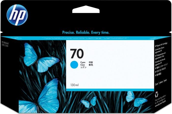 HP 70 Tinte cyan (C9452A)