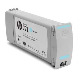 HP ink Nr 771 cyan light, 3-pack (CR255A)