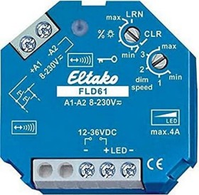 Eltako FLD61 PWM-dimmer switch for LED 12V-36V, wireless switching actuator