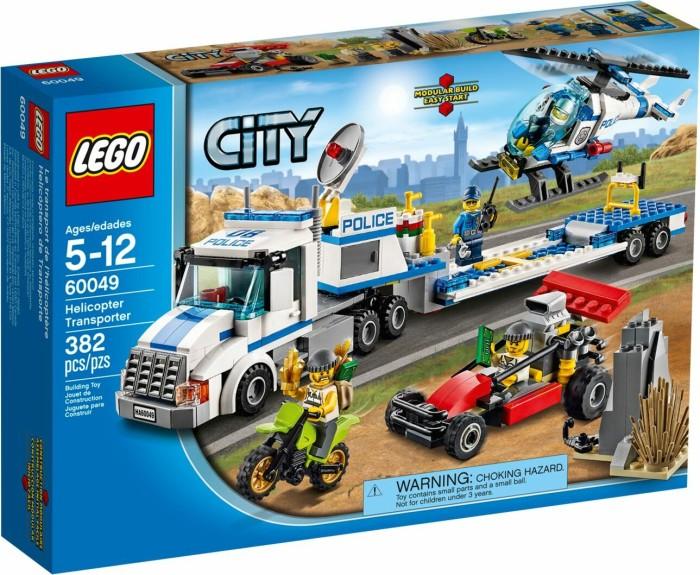 Lego city polizei hubschrauber transporter 60049 ab 69 99 2019 heise online - Lego camion de police ...