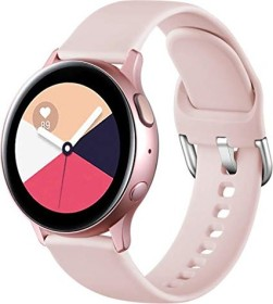 Wepro Silikonarmband S für Samsung Galaxy Watch Active 2 40mm rosa