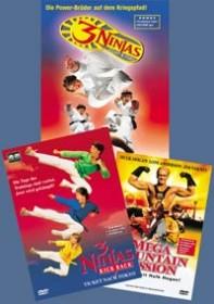 3 Ninjas Box (Fight & Fury/Kick Back/Mega Mountain Mission)