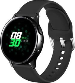 Wepro Silikonarmband S für Samsung Galaxy Watch Active 2 40mm schwarz