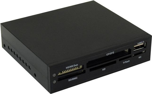 LC-Power Multi-Slot-Cardreader, USB 2.0 9-Pin Stecksockel [Stecker] (LC-CR-1)