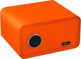 Basi mySafe 430 Tresor, orange, elektronisches Zahlenschloss (2018-0001-O)