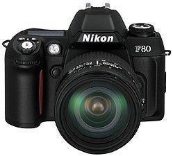 Nikon F80 (SLR) set with lens AF 28-105mm 3.5-4.5G