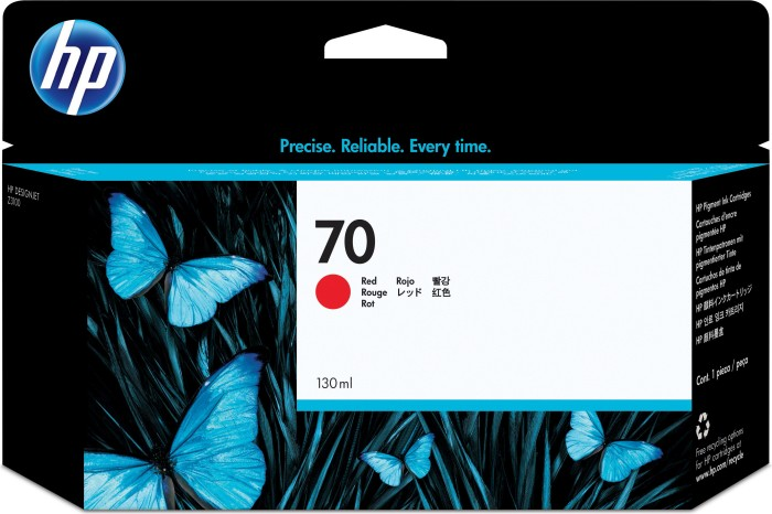 HP ink Nr 70 red (C9456A)