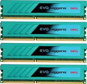 GeIL EVO Leggera DIMM Kit 32GB, DDR3-1866, CL10-10-10-32 (GEL332GB1866C10QC)