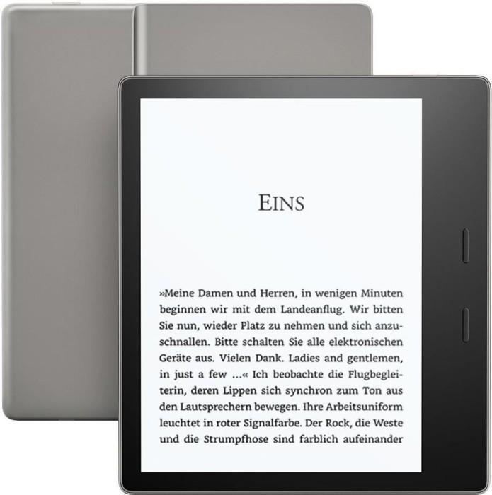 Amazon Kindle Oasis 2017 schwarz 8GB, ohne Werbung (53-006478)