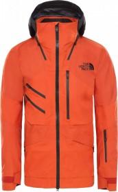 The North Face Brigandine Futurelight Snowboardjacke papaya orange fuse/weathered black fuse (Herren) (3M1V-JY6)