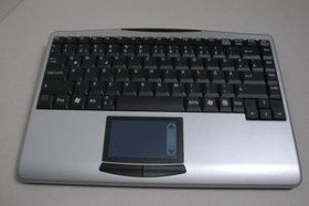 KeySonic ACK-540RF Wireless Mini Keyboard, USB, DE