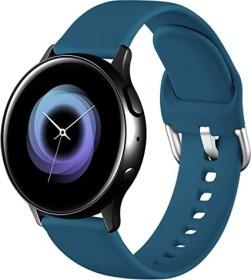 Wepro Silikonarmband S für Samsung Galaxy Watch Active 2 40mm schieferblau