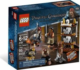 LEGO Pirates of the Caribbean - Kapitänskajüte (4191)