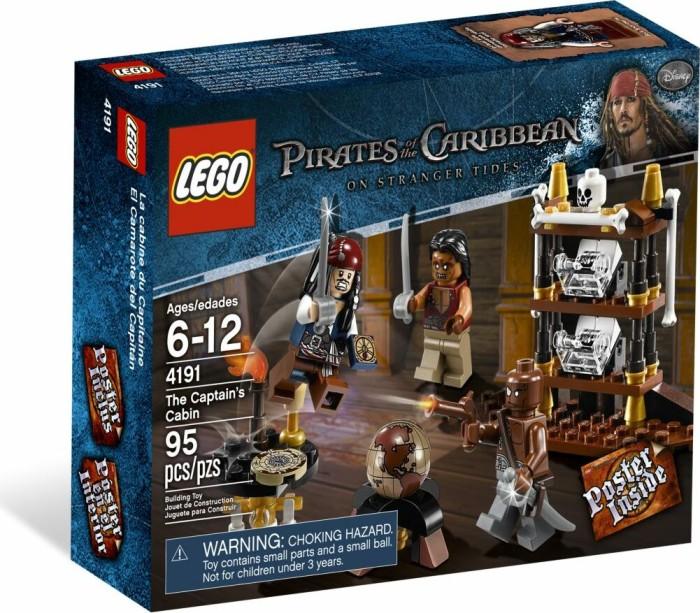 Lego Pirates Of The Caribbean Kapitänskajüte Ab 5499 2019