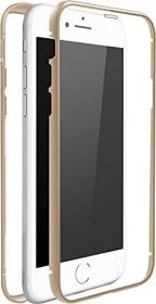 White Diamonds 360° glass case for Apple iPhone 7/8 gold