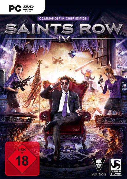Saints Row 4 - Commander in Chief Edition (PC)
