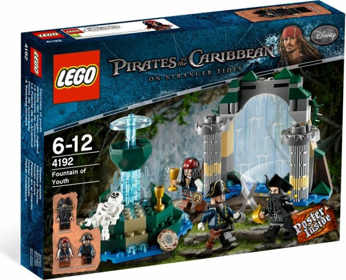 LEGO - Pirates of the Caribbean - Fountain of Youth (4192) -- via Amazon Partnerprogramm