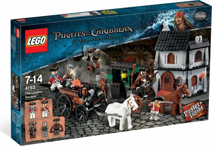LEGO Pirates of the Caribbean - Flucht aus London (4193) -- via Amazon Partnerprogramm
