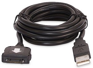 APC USB PDA Charger/Sync-Kabel HUSBCQ2I (iPAQ)