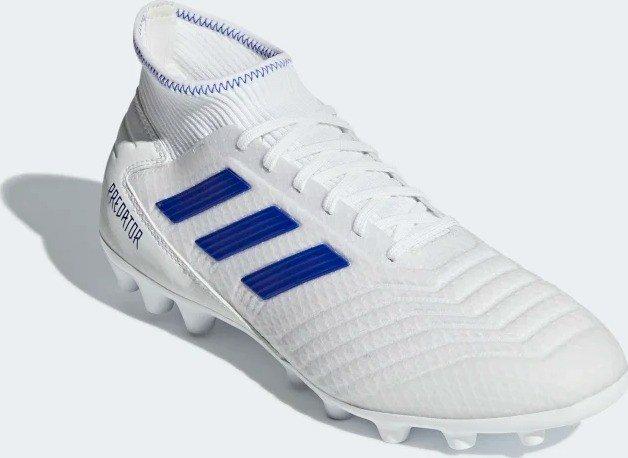 Escritor Canberra virar  adidas Predator 19.3 AG ftwr white/bold blue/bold blue (men) (D97943) |  Skinflint Price Comparison UK