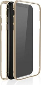 White Diamonds 360° glass case for Apple iPhone X/XS gold