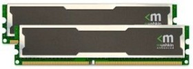 Mushkin Enhanced Silverline Stiletto DIMM Kit 4GB, DDR2-667, CL5-5-5-15 (996756)