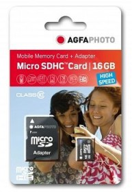 Lupus Imaging AgfaPhoto High Speed R45/W15 microSDHC 16GB Kit, UHS-I U1, Class 10 (10580)