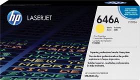 HP Toner 646A gelb (CF032A)