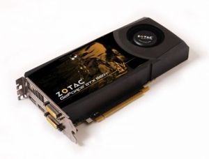Zotac GeForce GTX 560 Ti, 2GB GDDR5, 2x DVI, HDMI, DisplayPort (ZT-50307-10M)