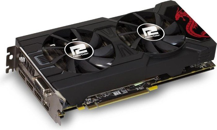 PowerColor Radeon RX 570 Red Dragon, 8GB GDDR5, DVI, HDMI, 3x DP (AXRX 570 8GBD5-3DHD/OC)
