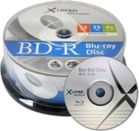 XLayer BD-R 25GB 4x, 25-pack Spindle