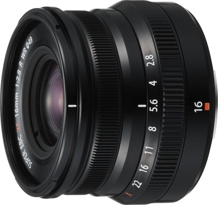 Fujifilm Fujinon XF 16mm 2.8 R WR schwarz