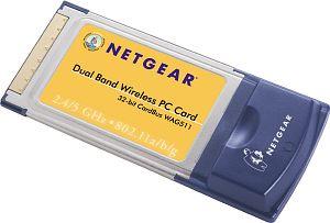 Netgear WAG511, Cardbus