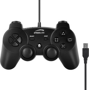 Speedlink Strike FX Gamepad black (PC/PS3) (SL-4442-SBK-01)