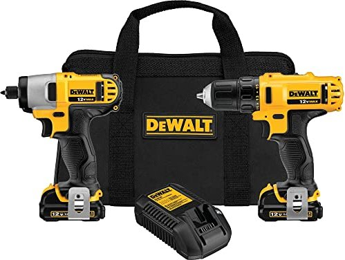Dewalt DCK211S2 combo pack Cordless Tool set incl. bag + 2 Batteries -- via Amazon Partnerprogramm