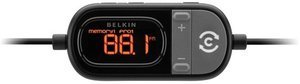 Belkin TuneCast car Live with ClearScan FM transmitter for iPod and iPhone black (F8Z498cw)