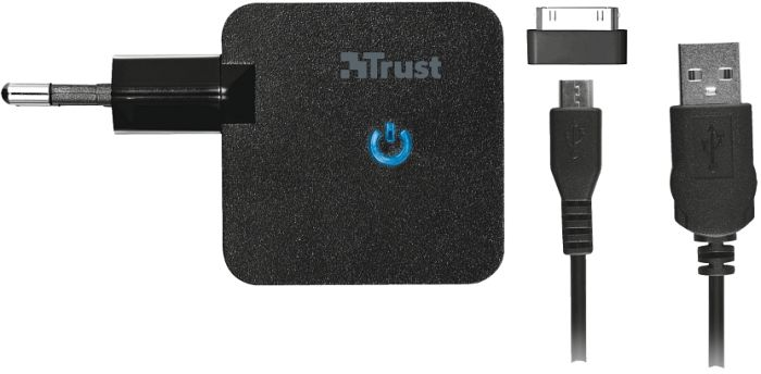 Trust Micro-USB-Ladekabel + Samsung 30-Pin Dock Connector (19421)
