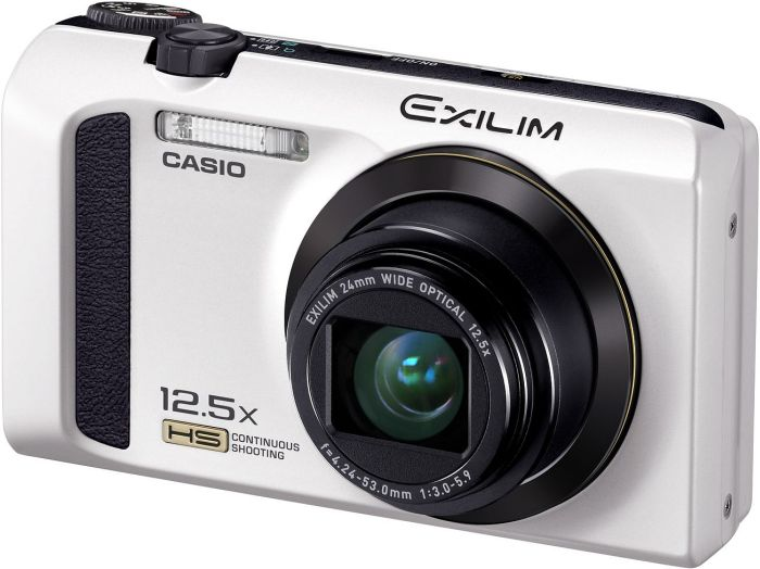 Casio Exilim EX-ZR300 white