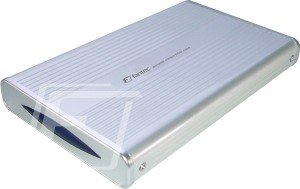 "Fantec DB-228U2 silber, 2.5"", USB 2.0 Micro-B (1255)"